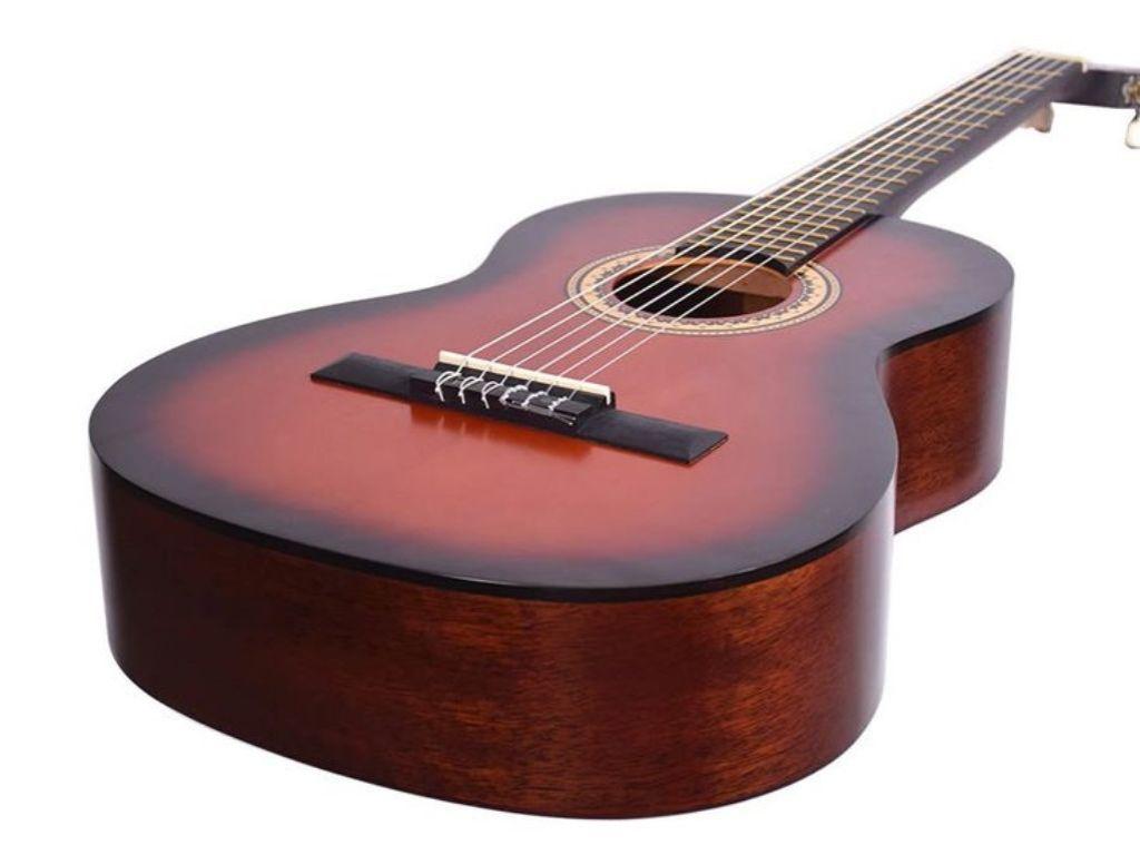 Valencia VC-203H 3/4 gitaar met extra smalle hals.