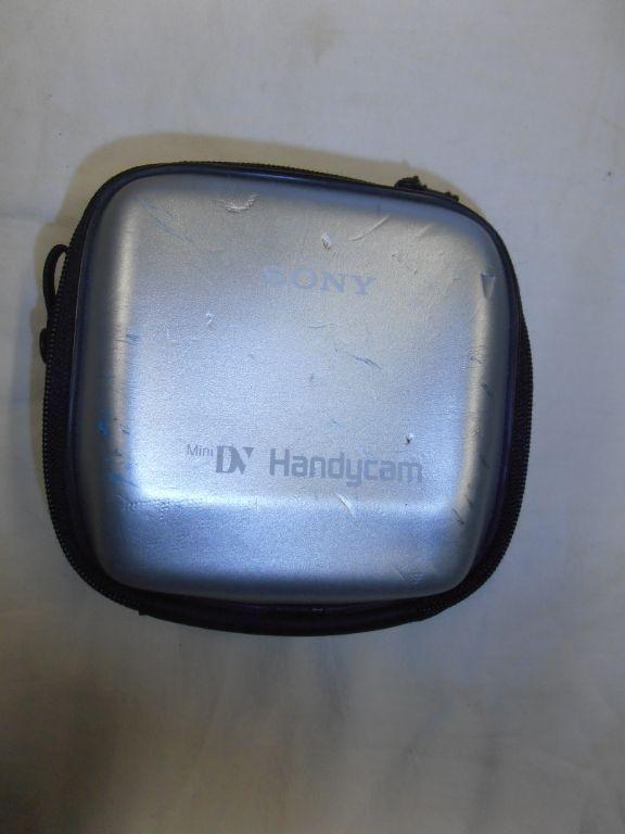 Sony Handycam tasje klein
