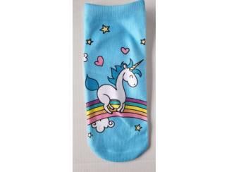 Eenhoorn/Unicorn Sneaker Sokken