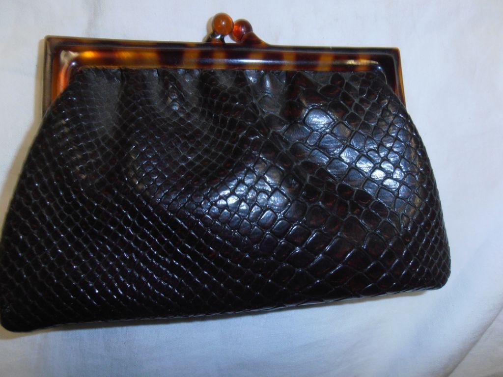 Kleine handtas of grote beurs